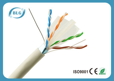 Jeu d'OFC 1000 pi de PVC câble Ethernet/23AWG de ftp Cat6 de gris de câble Ethernet